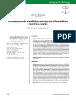 Manejo Anetesico e Enfermedades Neuromusculares