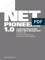Net Pioneers 1.0 Contextualizing Early Net-Based Art 2010