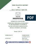 Marketing Strategies - Honda