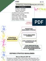 Manajemen Strategi Pengembangan Apotek Kelompok 1