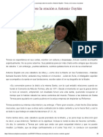 Teresa Aconseja Sobre La Oración a Antonio Gaytán – Teresa, De La Rueca a La Pluma