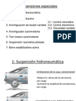 Suspensiones especiales