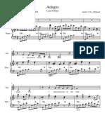 Partitura Adagio-Lara Fabian