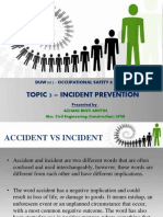 Topic 3 DUW1012 - Incident Prevention