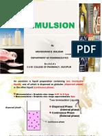 Emulsion Asnake Ppt