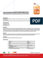 Ficha Tecnica Desengraxante Nature Eco
