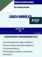 Lógica Simbólica - SDNSR 2018