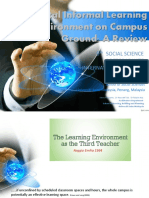 Physical Informal Learning Environment on Campus