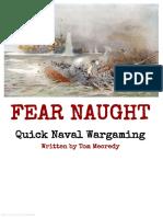 Fear Naught - Quick Naval Wargaming (11833859)