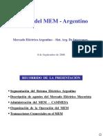 Sistema Eléctrico MEM