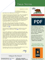 Field Notes From The Meg Whitman Campaign - September 10, 2010