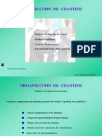 Cours Organisation de Chantier CERFER BTS2 PowerPoint