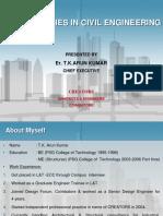 Opportunities in Civil Engineering