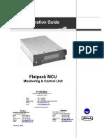 Flatpack1500 - MCU User Manual