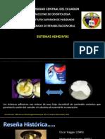 sistemas adhesivos
