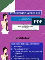 2 Pemeriksaanginekologi 100619084556 Phpapp02