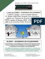 LINKY Audience plaidoirie PARIS mardi 19 février 2019