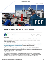 Commissioning Test Procedure Subtransmission Cables