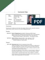CV Academic