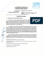 Resolution and Order CEPR AP 2018 0001 3
