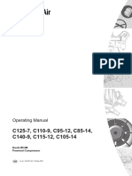 Western Standard Air Compressor C110-C140 Operating Manual