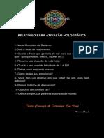 RELATÓRIO PARA ATIVAÇÃO HOLOGRÁFICA.docx