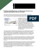 Produzent von Miniaturpumpen und Mikropumpen Schwarzer.com vergrößert Betriebsfläche in Essen