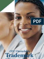 Cfa Charter Trademark Usage Guide