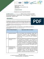 Trabalho de Psicologia Organizacional - Udesc