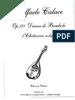 17103-Danza Di Bambole (Chitarra Sola)
