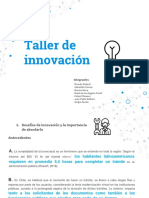 Taller de Innovación - MGPP