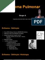 Seminário + Enfisema + Grupo 4