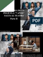 """Constantino Parente - La Historia de La Película """"7 Años"""" Salta Al Teatro, Parte II"""