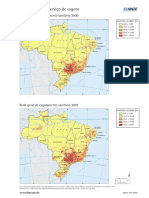 Brasil Acesso Ao Servico de Esgoto