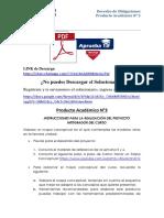 Producto académico N°3 - DERECHO DE LAS OBLIGACIONES
