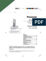 Manuale Cordless Panasonic KX_TG1070JT UG