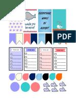 Whale Themed Printable