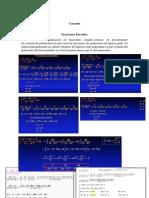 Mate fracciones parciales