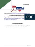Producto académico N°3 - GESTIÓN PÚBLICA