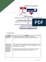 Producto académico N°3 - INVESTIGACIÓN DE OPERACIONES