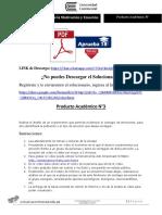 Producto académico N°3 - PSICOLOGÍA DE LA MOTIVACIÓN Y EMOCIÓN