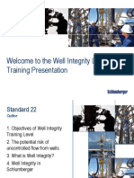 Well Integrity Training Module