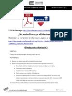 Producto académico N°3 - REDACCIÓN CIENTÍFICA Y ACADÉMICA
