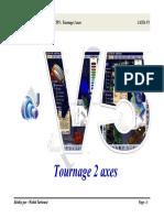 Fascicules TP FAO Catia V5 Tournage 2 Axes
