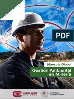Maestría Global en Gestión Ambiental en Mineria
