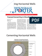 Foam Cementing Horizontal Wells