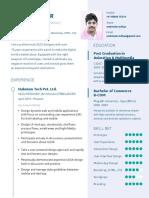 UX Design CV