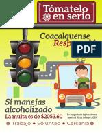 Multas Coacalco 2019