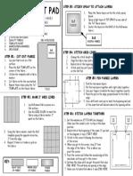 basic hot pad instructions