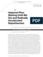 Https Www E-flux Com Journal 46 60096 Abysmal-plan-waiting-until-we-die-And-radically-Accelerated-repetitionism (1)